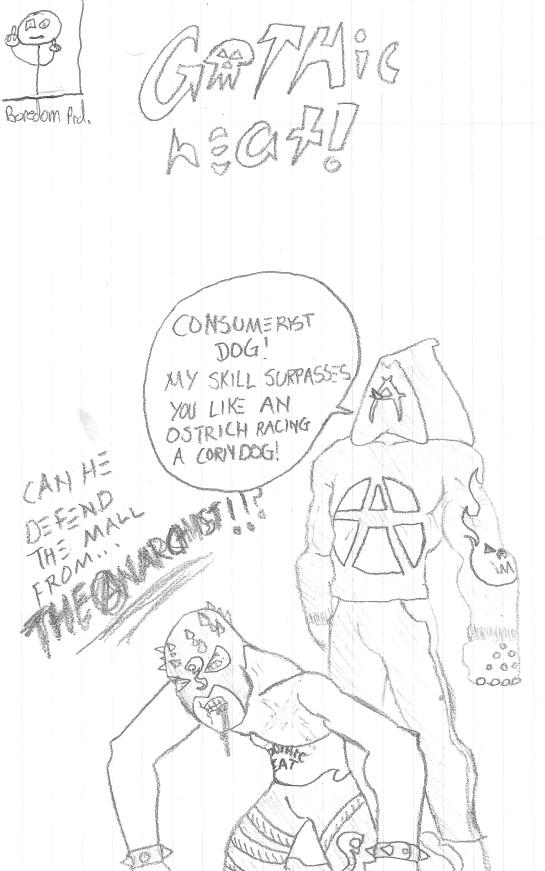 071 - Gothic Heat vs The Anarchist